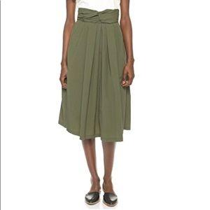 Rachel Comey Olive Moor Skirt Size 2: LIKE NEW